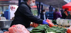 Без кихащи и кашлящи на столичните пазари (ВИДЕО)