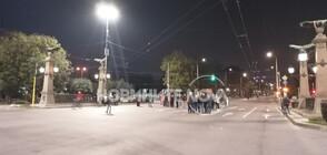 """Протестиращи блокираха движението при """"Орлов мост"""" (ВИДЕО+СНИМКИ)"""