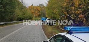 Тир катастрофира на пътя между Габрово и Велико Търново (ВИДЕО+СНИМКИ)