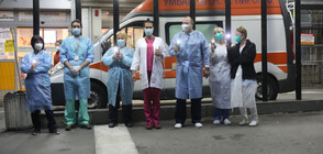 Медиците с пореден флашмоб, отново призоваха за спазване на мерките (СНИМКИ)