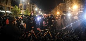 Полицията арестува десетки хора след изборите в САЩ (СНИМКИ)