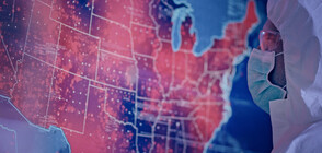 ЧЕРЕН РЕКОРД В САЩ: Над 2400 починали от COVID-19 за едно денонощие
