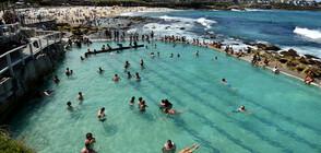 Слънчевото време в Австралия напълни плажовете на страната (ВИДЕО)