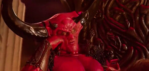 СРЕЩА ОТ АДА: Дяволът се запозна с 2020 година (ВИДЕО)