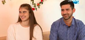 """Джералдин и Лазаринов за преживените емоции в """"Игри на волята: България"""""""