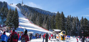 Bad weather closes temporarily ski area in Pamporovo