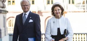 Шведската кралска двойка се ваксинира срещу COVID-19 (СНИМКА)