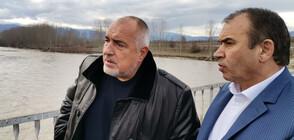 НА ЖИВО: Възстановиха моста над река Блатска край Хаджидимово
