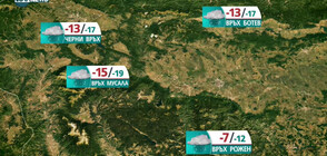 Прогноза за времето на NOVA NEWS (16.01.2021 - 14:00)