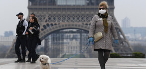 Близо 6000 глобени за неспазване на вечерния час във Франция