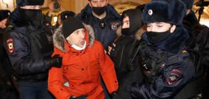 Великобритания осъди задържането на Навални
