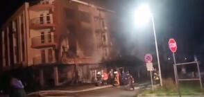 Жена едва не загина при пожар в Приморско (ВИДЕО)