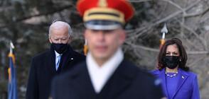 Президентът Байдън се преклони пред гроба на незнайния войн в Арлингтън (ВИДЕО+СНИМКИ)