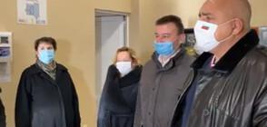 Борисов на инспекция в Сливница (ВИДЕО)