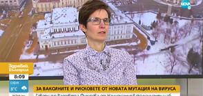 Д-р Филипова: Имаме ваксини за всички, започнали имунизацията