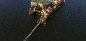 """Русия поднови полагането на тръби за газопровода """"Северен поток"""" 2"""