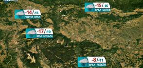 Прогноза за времето на NOVA NEWS (27.01.2021 - 13:00)
