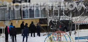 Джип се заби в блок в София (СНИМКИ+ВИДЕО)