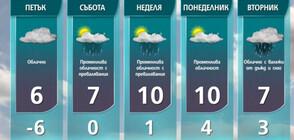 Прогноза за времето на NOVA NEWS (28.01.2021 - 13:00)