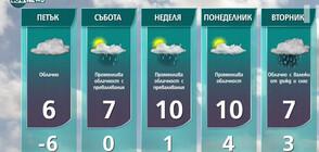Прогноза за времето на NOVA NEWS (28.01.2021 - 14:00)