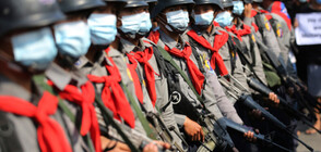 Полицията стреля срещу протестиращи в Мианма