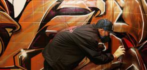 3D ИЛЮЗИЯ: Графити артист превръща каменни повърхности в картини (СНИМКИ+ВИДЕО)