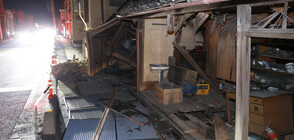 Мощно земетресение разтърси Япония (ВИДЕО+СНИМКИ)