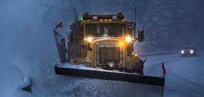 """Затвориха магистрала """"Тракия"""" заради снега"""