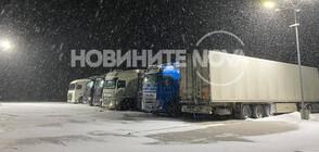 Гърция затвори граничните пунктове за камиони заради обилен снеговалеж