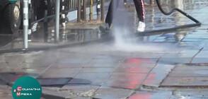 ЗА ПО-ЧИСТА СТОЛИЦА: Започна миенето на улици и тротоари (ВИДЕО)