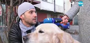 Мъж твърди, че той и кучето му са били нападнати от питбул (ВИДЕО)