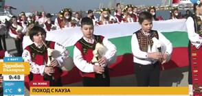 С мотошествие Бургас отбелязва празника (ВИДЕО)