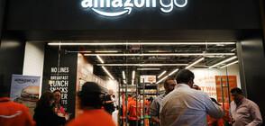 Amazon отваря първи безкасов магазин в Европа