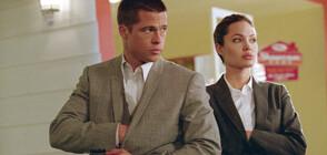 """Анджелина Джоли и Брад Пит мерят сили в """"Мистър и мисис Смит"""""""