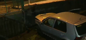 Кола падна в река в София, жена е в критично състояние (ВИДЕО)