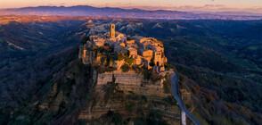"""""""Умиращият"""" италиански град, който омайва туристите (ГАЛЕРИЯ)"""