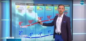 Прогноза за времето (08.04.2021 - обедна)