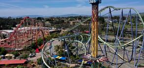 SUGAR RUSH: Най-сладкият увеселителен парк в Калифорния отвори врати (ВИДЕО)