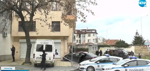 Кола се вряза в жилищна сграда във Варна