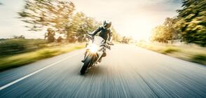ЕКШЪН В ПЛОВДИВ: Моторист избяга от полицията, карайки по тротоар