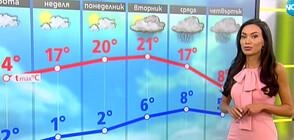Прогноза за времето (10.04.2021 - сутрешна)