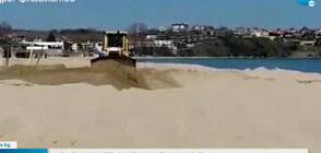 Пореден сигнал за тежка техника на плаж край Созопол