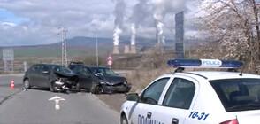 "Двама пострадаха при катастрофа на магистрала ""Струма"" (ВИДЕО)"