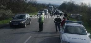 Катастрофа затруднява движението по пътя Велико Търново - Русе (СНИМКИ)