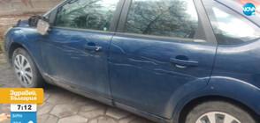 Брутално посегателство върху паркирани автомобили в София (ВИДЕО)