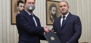 Президентът връчи мандата на ГЕРБ (ВИДЕО+СНИМКИ)