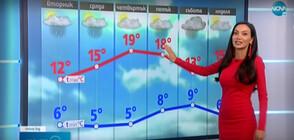Прогноза за времето (21.04.2021 - обедна)