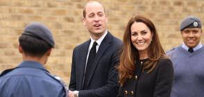 Кейт и Уилям с първа поява след смъртта на принц Филип (СНИМКИ+ВИДЕО)