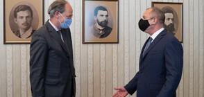 President Rumen Radev meets with German Ambassador Christoph Eichhorn