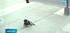 3-годишно дете падна от прозорец на петия етаж (ВИДЕО)